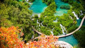 Plitvické jazerá - Chorvátsko