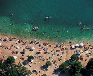 Crikvenica - Gradska plaža - Chorvátsko