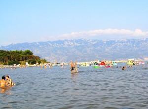chorvátske pláže, dovolenka Chorvátsko