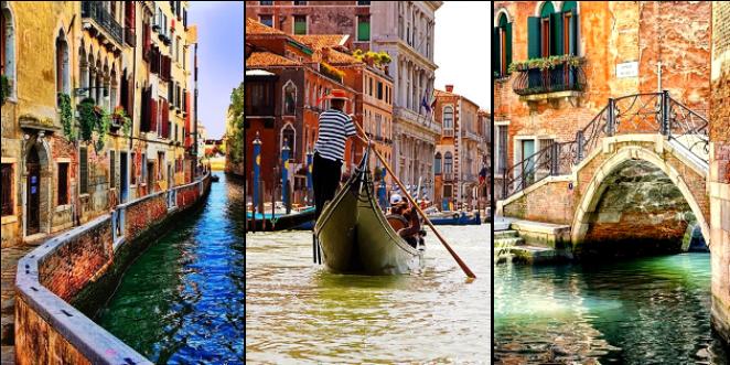 Benátky, dovolenka v Taliansku