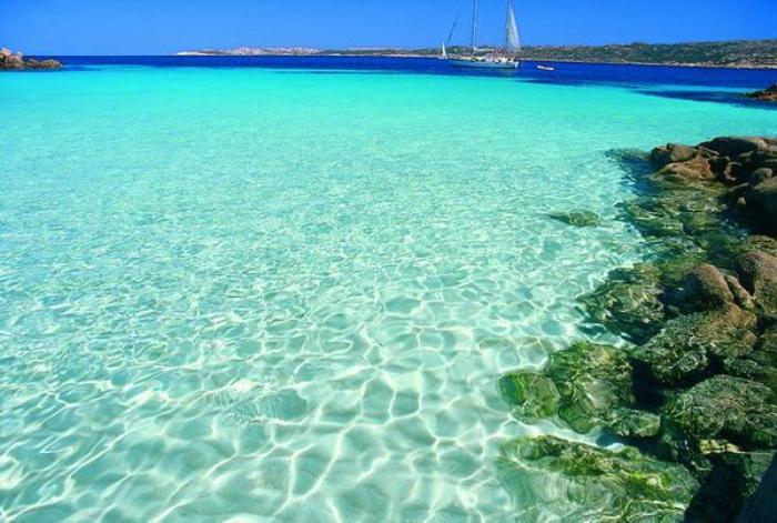 Costa Smeralda pláž
