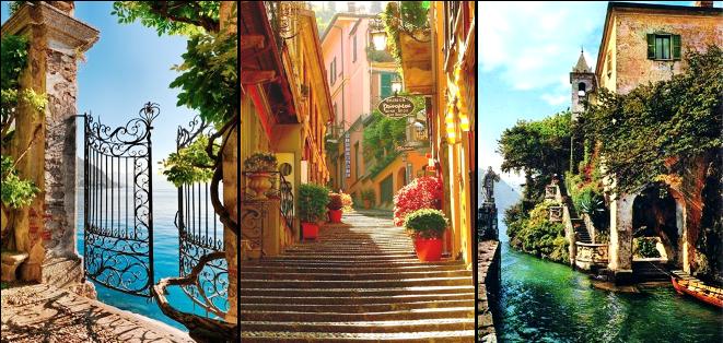 Jazero Como, dovolenka v Taliansku