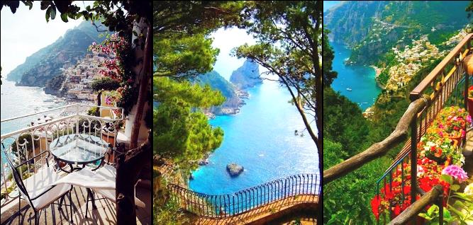 Positano, dovolenka v Taliansku