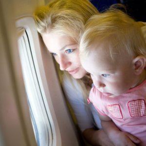 deti v lietadle