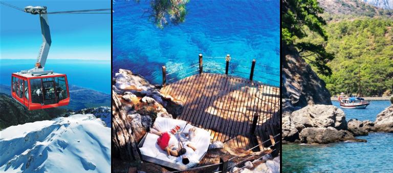 Toto všetko sa dá zažiť na dovolenke v Turecku za 8 dní