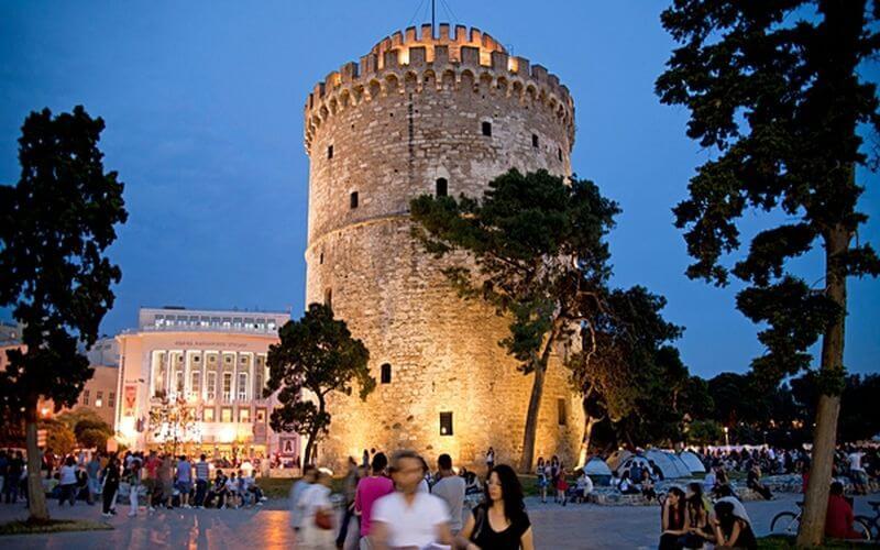 kam do grécka thesaloniki