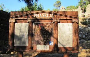 mestečko Phaselis, výlet