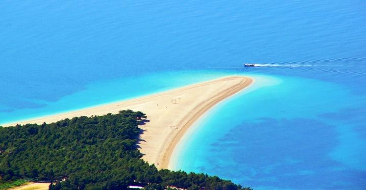 chorvátske pláže