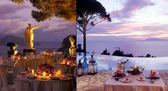 romantické Capri, dovolenka v Taliansku