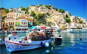 Rhodos, Symi, dovolenka v Grécku