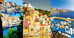Symi - Rhodos, dovolenka
