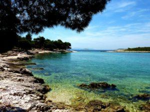 Mlini pláž, Chorvátsko, dovolenka
