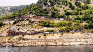 cesta do Chorvátska, dovolenka