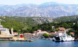cesta trajektom, dovolenka v Chorvátsku