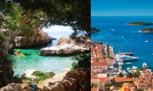 ostrov Hvar, dovolenka v Chorvátsku