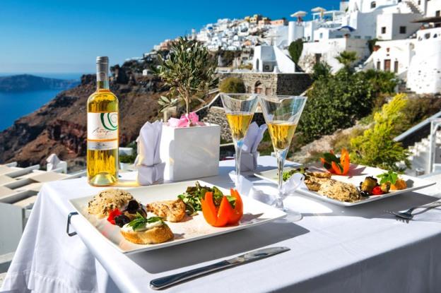 dovolenka Santorini