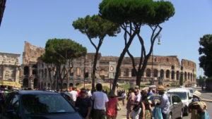 dovolenka v Ríme, koloseum