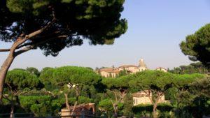záhrady nad Forum Romanum