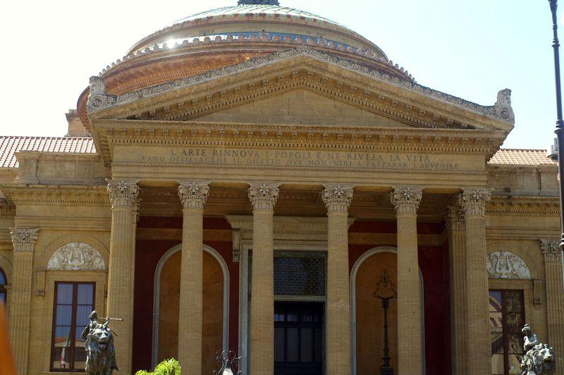 Teatro Massimo, dovolenka, Sicília