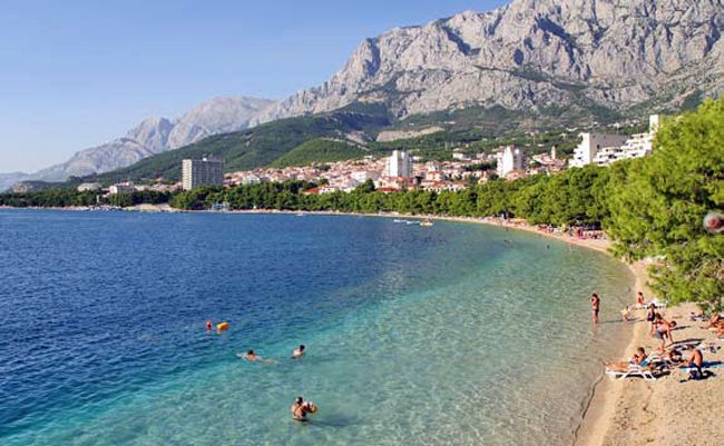 dovolenka Chorvátsko, chorvátske pláže