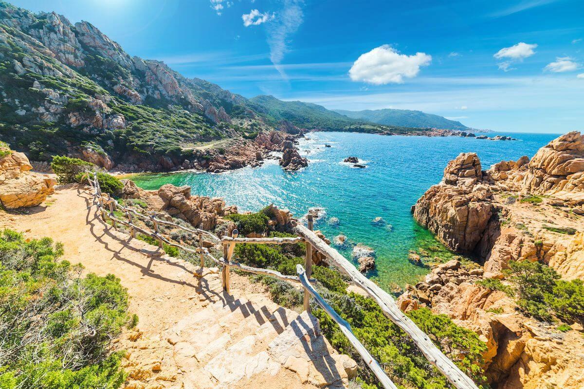 Sardínia dovolenka