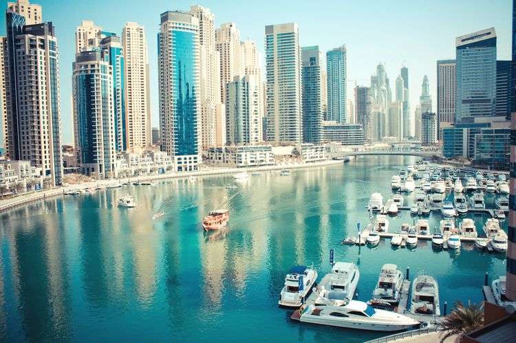 Dubai-Marina dovolenka