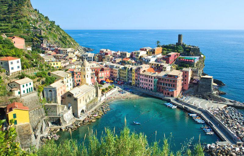 Vernazza dovolenka v Taliansku