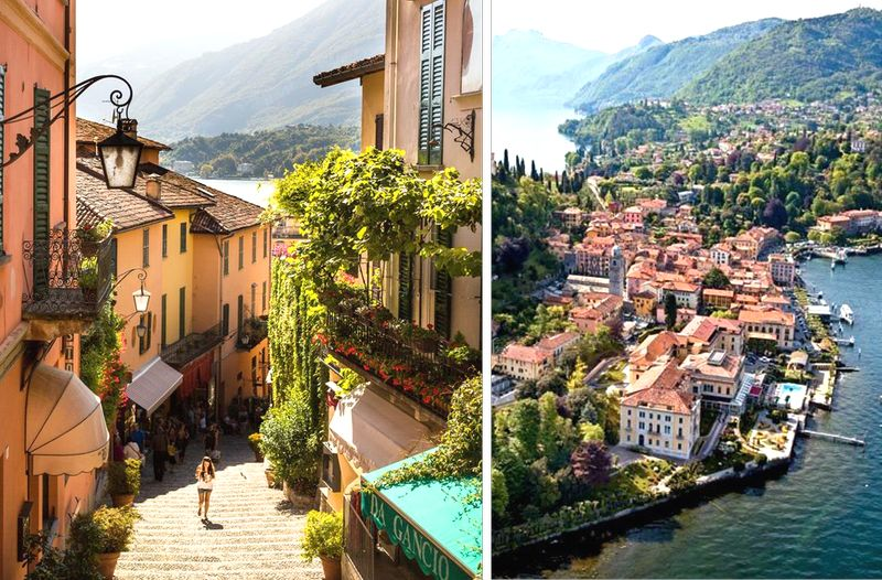 bellagio, dovolenka Taliansko