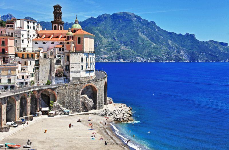 dovolenka v Taliansku, Atrani