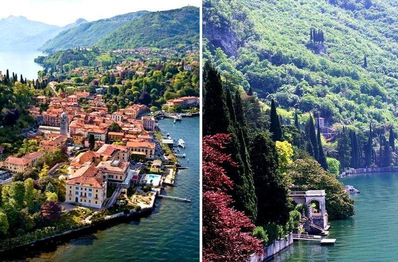 dovolenka v Taliansku, lago di como, Bellagio, taliansko