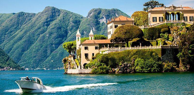 dovolenka v taliansku, vila balbianello, čo vidieť na lago di como