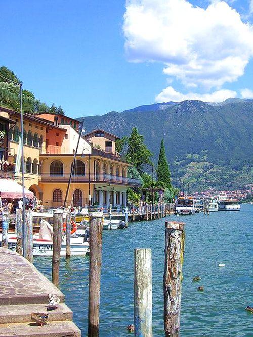 monte isola dovolenka taliansko flickr.