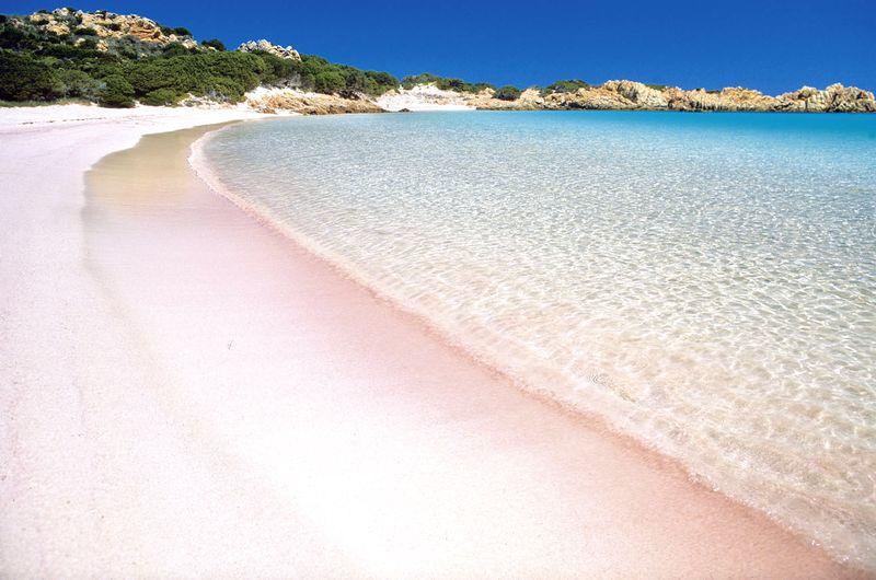 sardínia pláže, Spiaggia Rosa, najkrajsie plaze sardinia