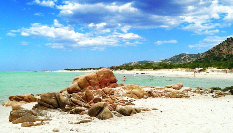 sardínia pláže, Berchida Sardínia, najkrajšie pláže Sardínie