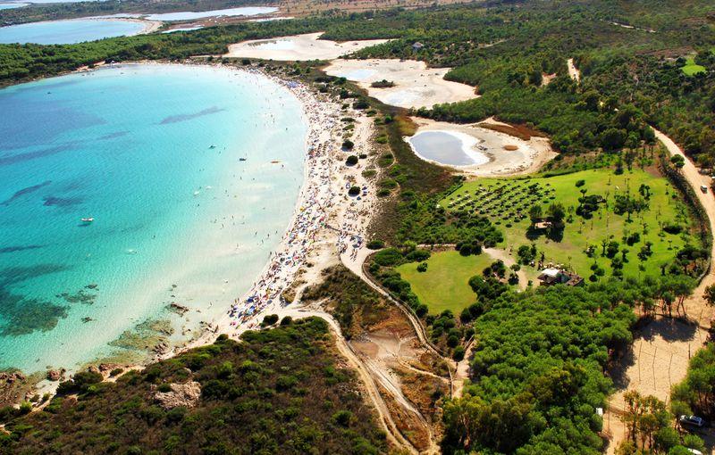 sardínia pláže, cala brandinchi, Sardínia najkrajšie pláže