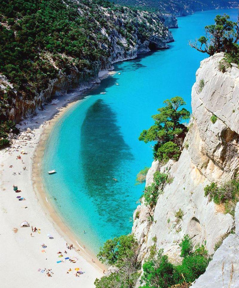 sardínia pláže, najkrajsie plaze sardinia, pláž cala-luna