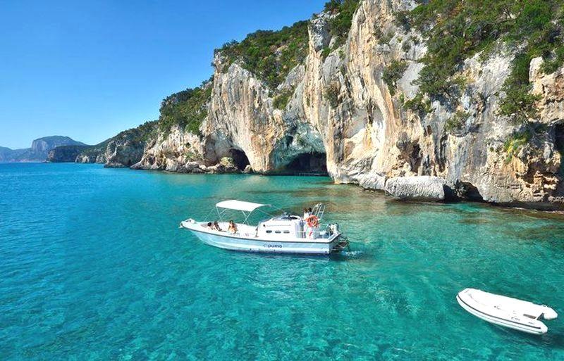 sardínia najkrajšie pláže, cala luna, dovolenka Sardínia