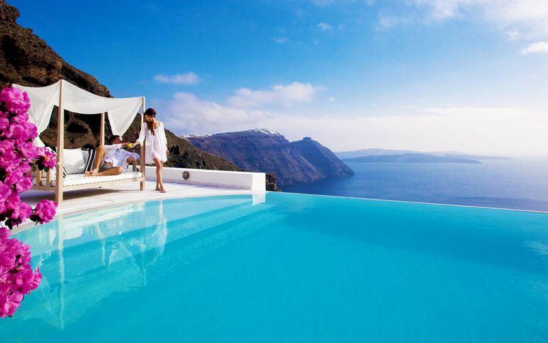 kam na dovolenku, dovolenka Santorini