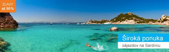 zájazd na Sardíniu 2016