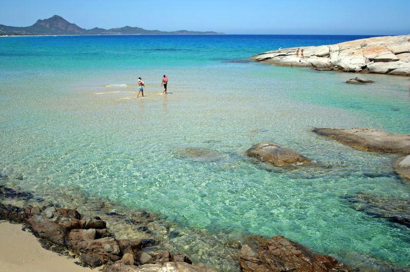 scoglio di peppino, pláže na Sardínii, dovolenka,
