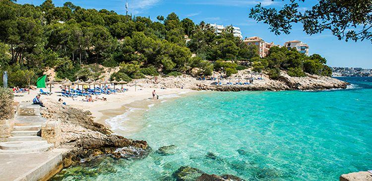 Illetas dovolenka mallorca najkrajšie pláže