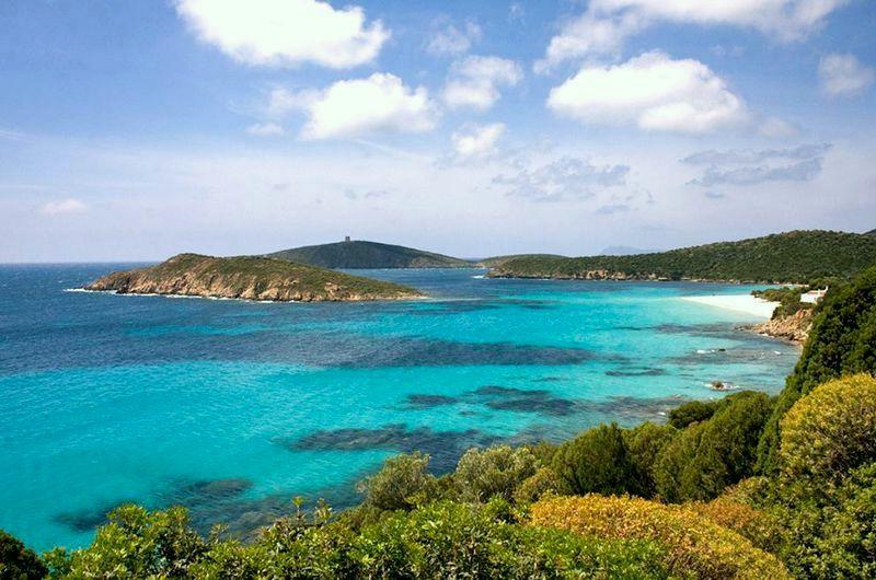 Tuerredda, najkrajšie pláže na Sardínii, dovolenka Sardínia
