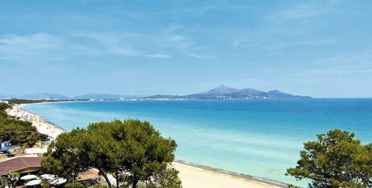 alcudia dovolenka mallorca najkrajšie pláže