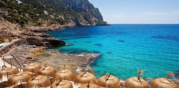 cala-llamp dovolenka mallorca najkrajšie pláže