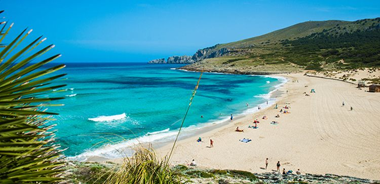 cala-mesquida dovolenka mallorca najkrajšie pláže