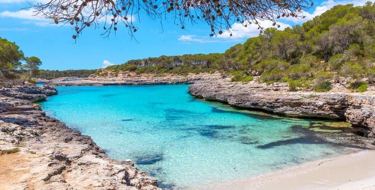 cala mondrago dovolenka mallorca najkrajšie pláže