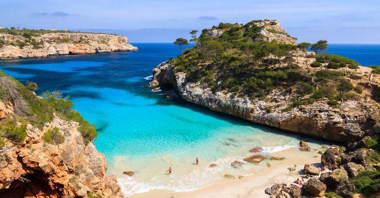 calo des moro dovolenka mallorca najkrajšie pláže