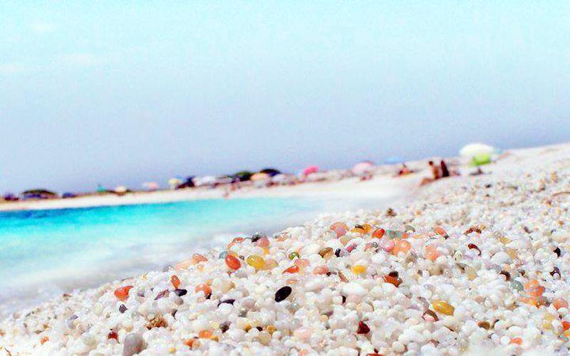 najkrajšie pláže na Sardínii, dovolenka Sardínia, pláž Is Arutas