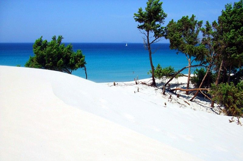 najkrajšie pláže na Sardínii, dovolenka Sardínia