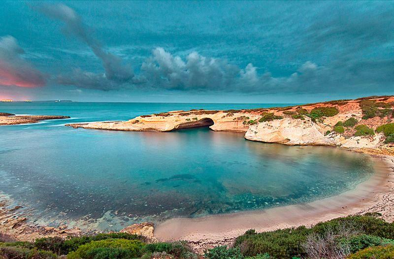 najkrajšie pláže na Sardínii, pláže na juhu a západe Sardínie, dovolenka Sardínia